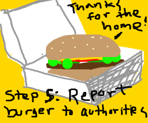 Step 4: Build the hamburger a home