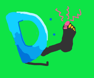 Drawception D Broke A Toe :(