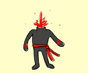 Headless ninja