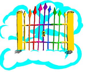 rainbow gate!