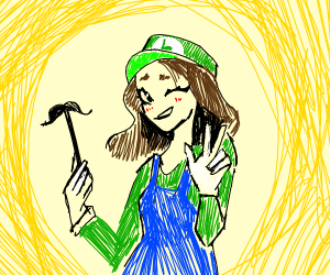 Luigi is a girl