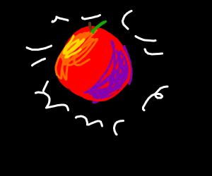 Apple in the dark (Apple moon?)