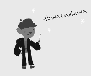 a magician with a baby accent (owo)