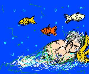 Poseidon sleeps with the fishes