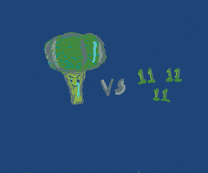 Broccoli fights 11s