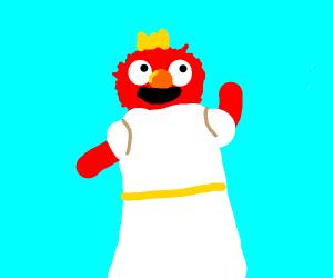 Elmo is a princess