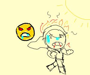 emoji fires vampire
