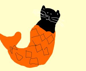 Cat-fish (literally)