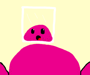 Religious Kirby forgot to shave