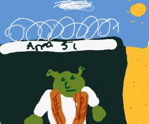 Shrek in area 51