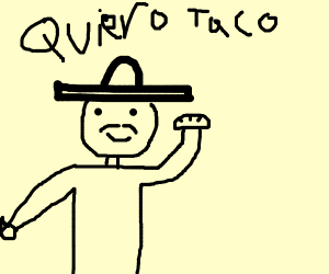 Mexican dude wants his sandwiches!!!!