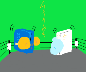 PlayStation vs wii boxing match