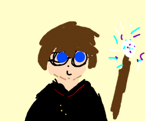 Mister Potter, boy wizard