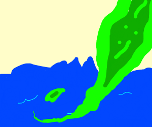radioactive goo spilled next to ocean