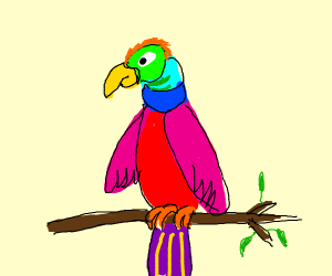 Parrot Symbol - Drawception