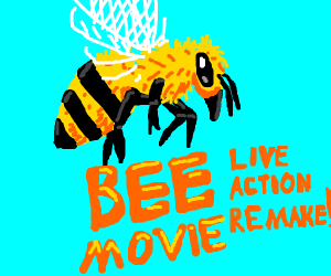 The Bee Movie (with real bees!)