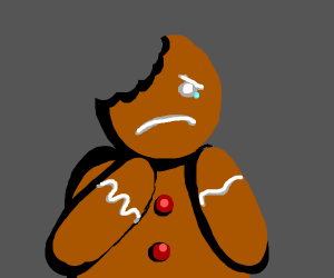 sad cookie man