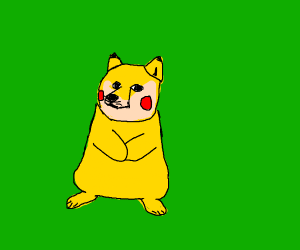 Behold-! Dogchu, my totally original Fakemon!