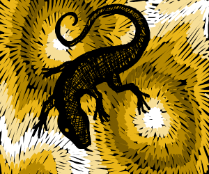 Cosmic Lizard