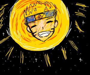 Naruto in the sun