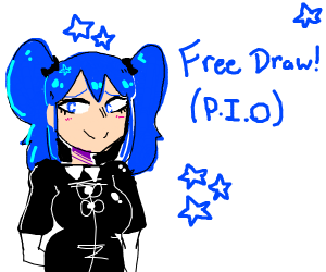 Free Draw pass it on! Also have a nice day!!!