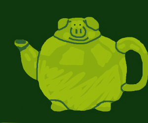 Hog Tea Pot