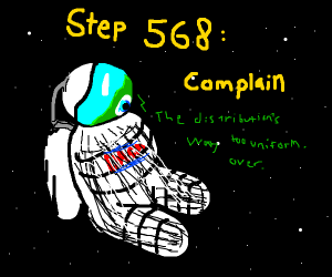 Step 567: Go to space for no reason