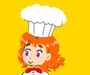 A cute little chef