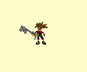 Sora, from Kingdom Hearts