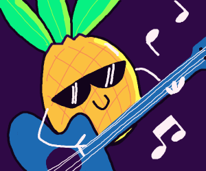 Pineapple wants to Rock!