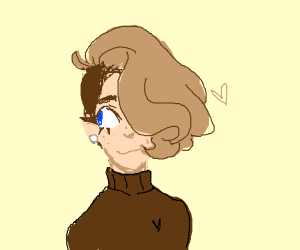 Boy with brown hair