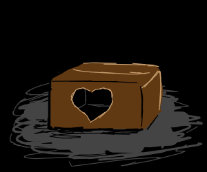 A box with empty feelings