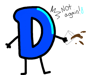 """drawception spills drink, says """"not again!"""""""