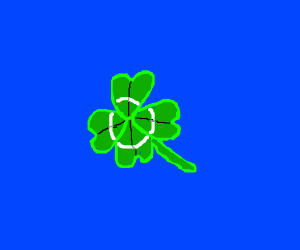 Lucky Four leaf clover.