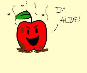 dirty apple gains sentience