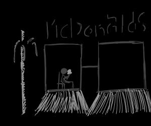 Dystopian Mcdonald's