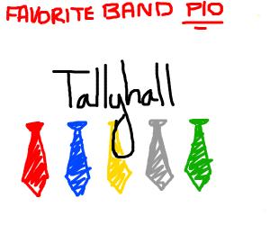Favorite Band (pass it on)