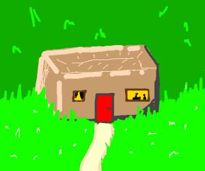 It's a Brick... HOUSE!