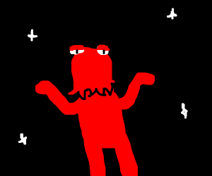 red thing in space