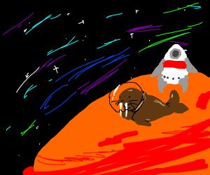 Walrus on an Alien Planet