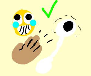 Emojis can pump up an eye