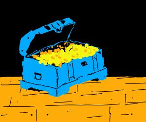 A pile of treasure