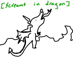 You as a dragon
