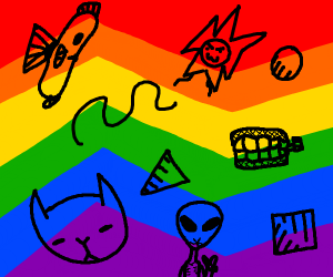 Weird Pride Flag
