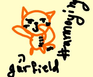 Garfield being annoying