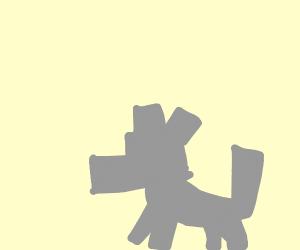 minecraft dog / wolf