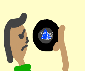 Magic 8 ball delivers disappointing result
