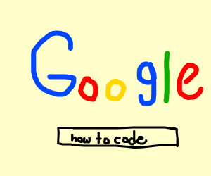 Asking google how to code