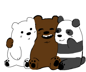we bare bears as cubs