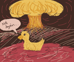 Duck in yet another US nuclear test